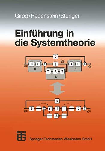 9783519061946: Einführung in die Systemtheorie.