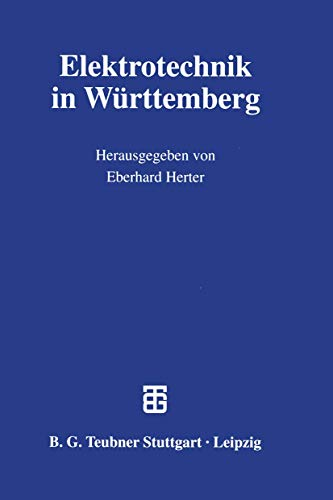 9783519062547: Elektrotechnik in Württemberg (German Edition)