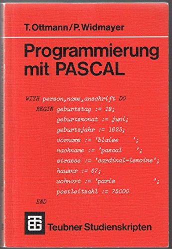 9783519100843: Programmierung mit Pascal (Teubner Studienskripten) (Livre en allemand)