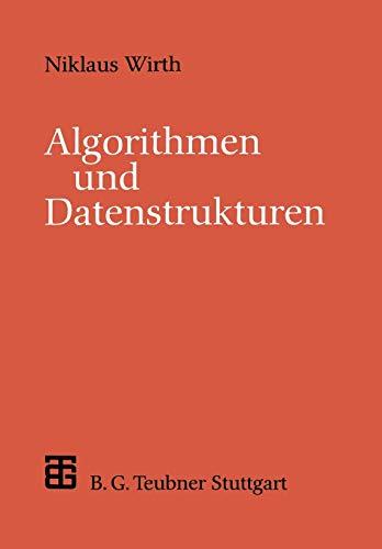 9783519122500: Algorithmen und Datenstrukturen: Pascal-Version (XLeitfäden der Informatik)