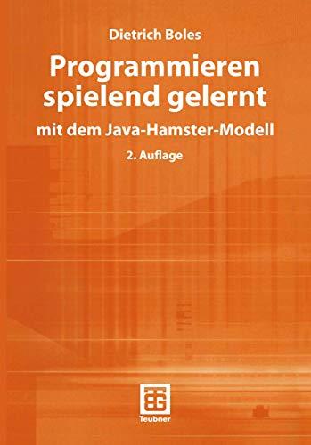 9783519122975: Programmieren spielend gelernt. Mit dem Java- Hamster- Modell.