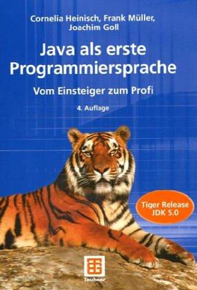 9783519126423: JAVA als erste Programmiersprache. JAVA 2 Plattform