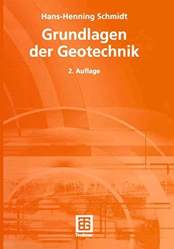 9783519150190: Grundlagen der Geotechnik.