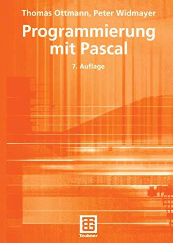 9783519222828: Programmierung mit Pascal