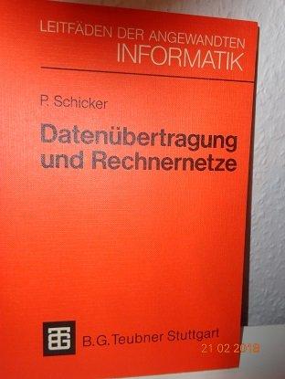 9783519224631: Datenübertragung und Rechnernetze