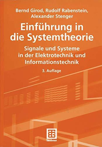 9783519261940: Einführung in die Systemtheorie
