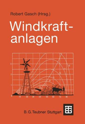 9783519263340: Windkraftanlagen. Grundlagen und Entwurf