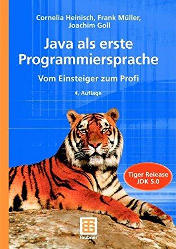 9783519326427: Java als erste Programmiersprache. Vom Einsteiger zum Profi. m. CD-ROM