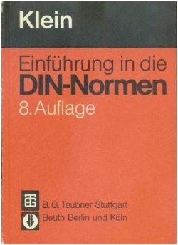 9783519363002: Einführung in die DIN-Normen