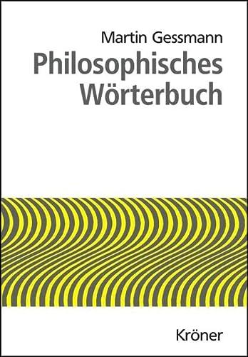 9783520013231: Philosophisches Wörterbuch