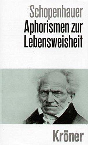 9783520016157: Aphorismen zur Lebensweisheit.