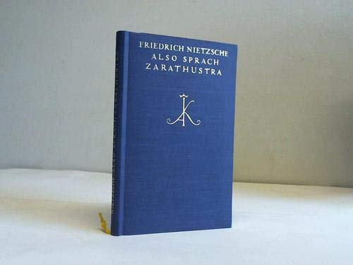 9783520075178: Also sprach Zarathustra.. Ein Buch für alle und keinen