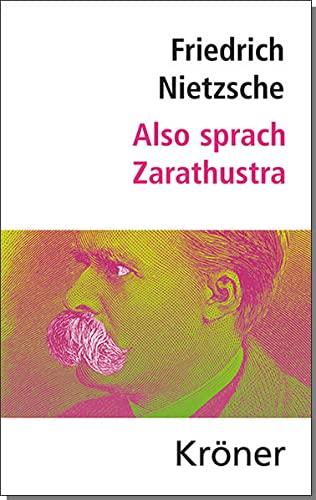 9783520075192: Also sprach Zarathustra: Nietzsche: Hauptwerke