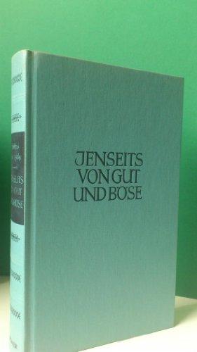 9783520076106: Jenseits von Gut und Böse. Zur Genealogie der Moral