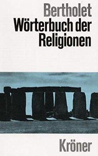 9783520125040: Wörterbuch der Religionen