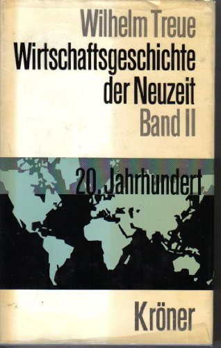 9783520208033: Wirtschaftsgeschichte Der Neuzeit