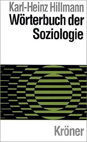 9783520410047: Wörterbuch der Soziologie.