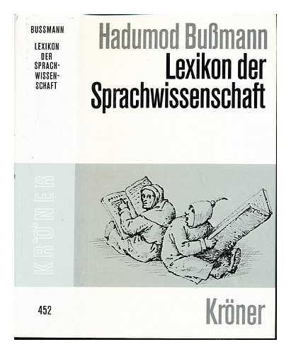 9783520452016: Lexikon der Sprachwissenschaft (Kröners Taschenausgabe) (German Edition)