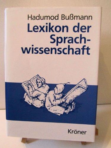 9783520452030: Lexikon der Sprachwissenschaft