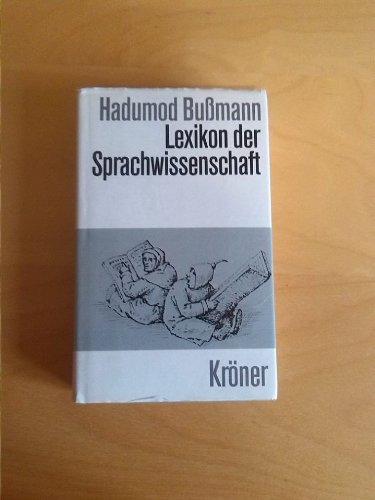 9783520452030: Lexikon der Sprachwissenschaft.