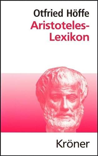 9783520459015: Aristoteles-Lexikon