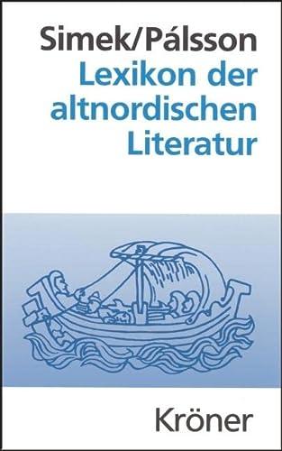 Lexikon der altnordischen Literatur (3520490021) by [???]
