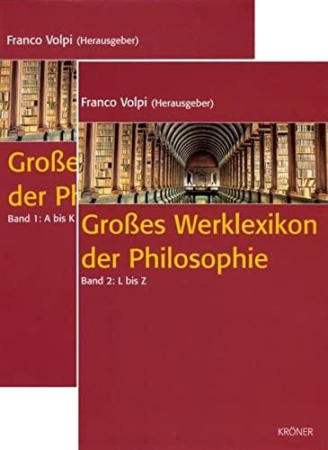 9783520829016: Grosses Werklexikon der Philosophie