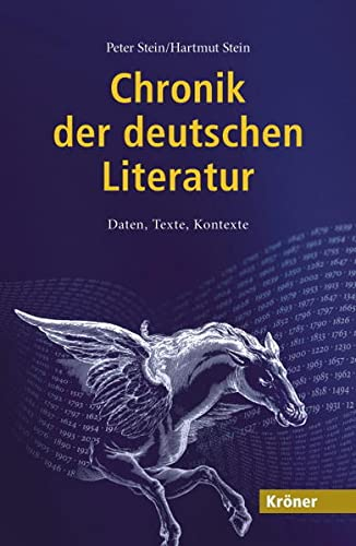 9783520847010: Chronik der deutschen Literatur