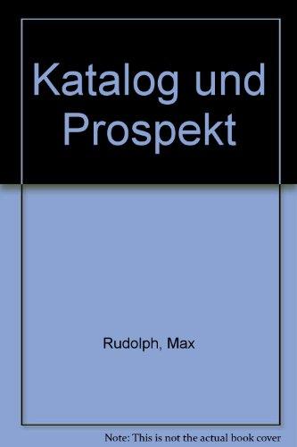 9783521040625: Katalog und Prospekt