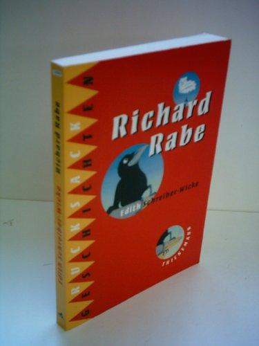 9783522169530: Richard Rabe. Thienemanns Rucksackgeschichten
