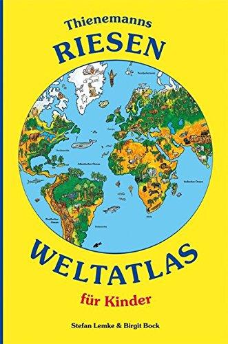 9783522437189: Thienemanns Riesen-Weltatlas für Kinder
