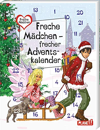 Mädchen Weihnachtskalender.9783522504355 Freche Mädchen Frecher Adventskalender Abebooks