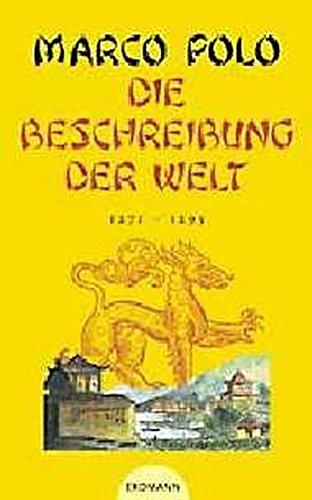 9783522600415: Die Beschreibung der Welt - 1271 - 1295.