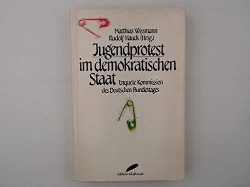 9783522700603: Jugendprotest im demokratischen Staat: Enquete-Kommission des Deutschen Bundestags