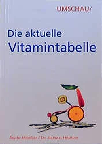 vitamintabelle abebooks. Black Bedroom Furniture Sets. Home Design Ideas