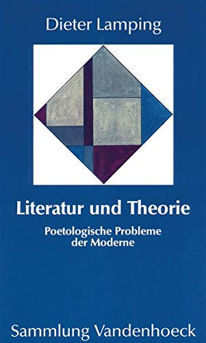 9783525012178: Literatur und Theorie