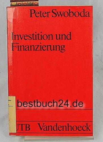 9783525031032: Investition und Finanzierung (Betriebswirtschaftslehre im Grundstudium der Wirtschaftswissenschaft) (German Edition)