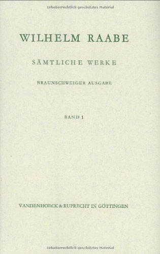 9783525201039: Die Chronik der Sperlingsgasse. Ein Fruhling (RAABE,SAMTLICHE WERKE)