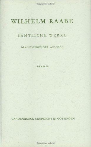 9783525201213: S�mtliche Werke 10: Der Dr�umling. Christoph Pechlin (Veroffentlichungen Der Niedersachsischen Archivverwaltung)
