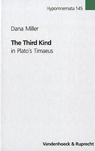 9783525252444: The Third Kind in Plato's Timaeus (Hypomnemata Untersuchungen zur Antike und zu ihrem Nachleben)