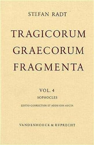 9783525257531: Sophocles: Editio correctior et addendis aucta (Dienst Am Wort)