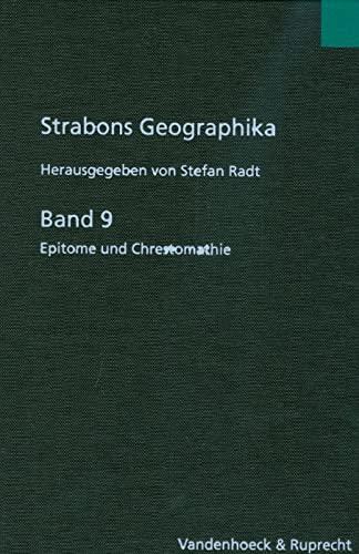 9783525259580: Strabons Geographika Band 9: Epitome und Chrestomathie
