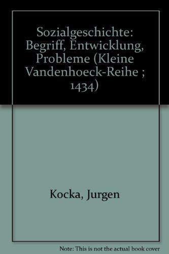 Sozialgeschichte: Kocka, Jurgen