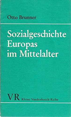 9783525334225: Sozialgeschichte Europas im Mittelalter