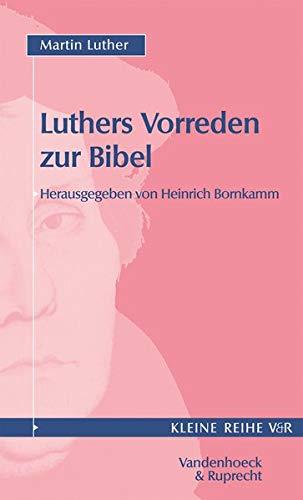 9783525335642: Vorreden zur Bibel (KLEINE VANDENHOECK REIHE)