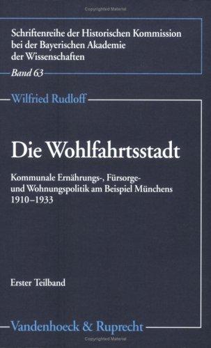 Die Wohlfahrtsstadt: Wilfried Rudloff