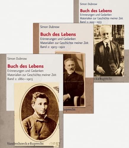 9783525369531: Buch des Lebens (Simon Dubnow, Buch des Lebens)