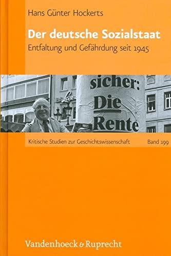 9783525370018: Der deutsche Sozialstaat (Kritische Studien zur Geschichtswissenschaft)