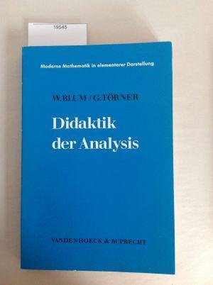 Didaktik der Analysis. (Lernmaterialien): Blum, Werner; Törner,