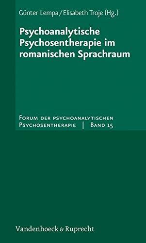 Psychoanalytische Psychosentherapie Und Zvab